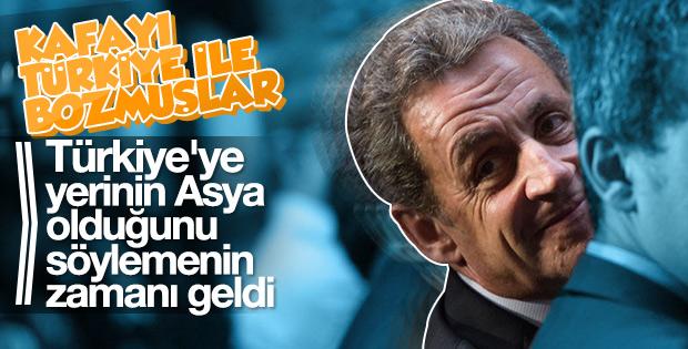 Sarkozy'den küstah Türkiye açıklaması