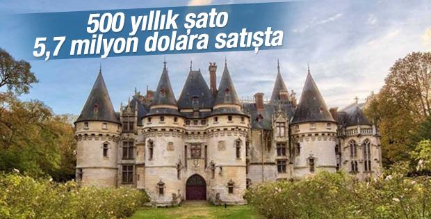 Fransa'da 500 yıllık şato satışta