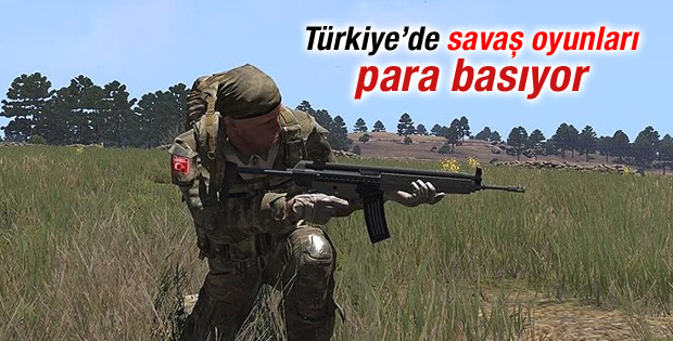 Türkiye'de savaş oyunları para basıyor