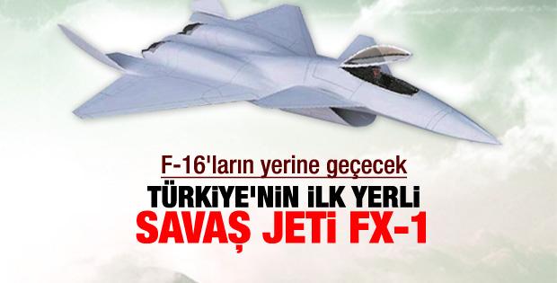 İşte ilk milli savaş uçağı FX-1