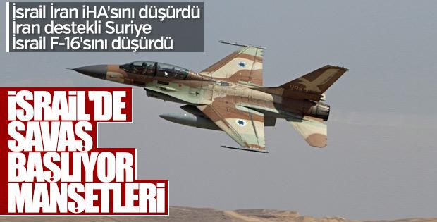 İsrail medyası: İran ile direkt savaş başladı