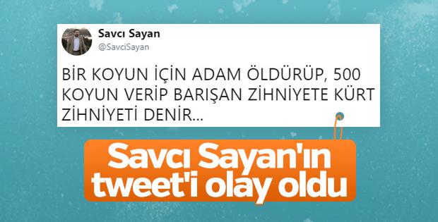 Savcı Sayan'ın Kürt tweet'i tartışılıyor