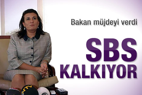 SBS kalkıyor