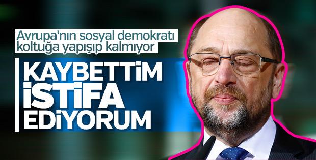 Martin Schulz istifa etti