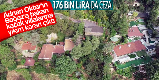Adnan Oktar'ın villalarına yıkım kararı