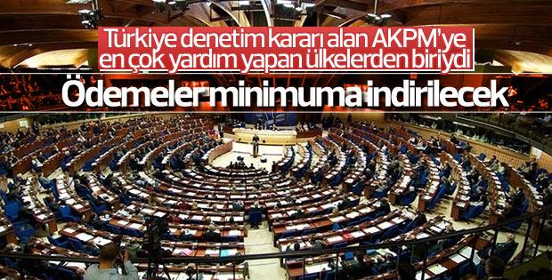 Çavuşoğlu: AKPM'ye ödeme minimum indirilecek