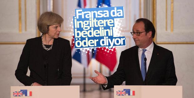 Fransa'dan İngiltere'ye Brexit çıkışı