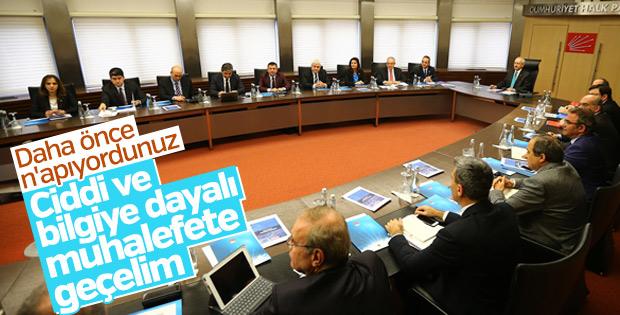 Kılıçdaroğlu yeni sistemde ciddi bir muhalefet istiyor