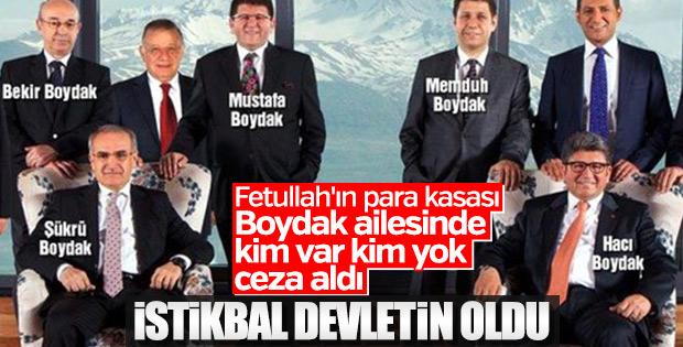 Boydak Holding davası sonuçlandı