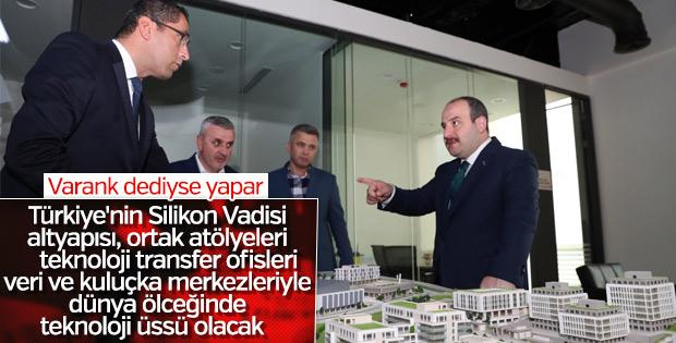 Bakan Varank'tan Bilişim Vadisi'ne ziyaret