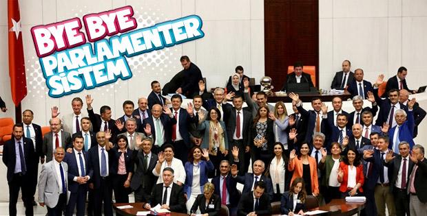 Parlamenter sistem sona erdi