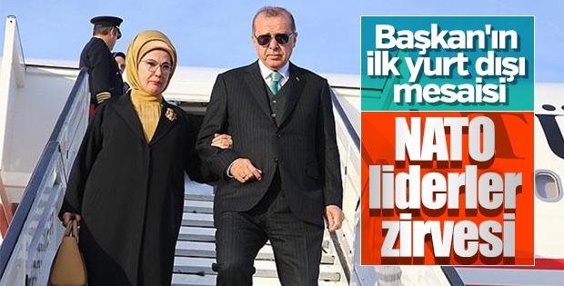 Erdoğan yeni dönem mesaisine NATO ile başlayacak