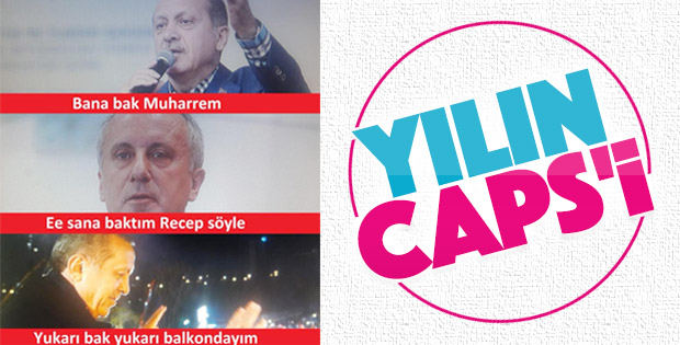 Erdoğan'la İnce'nin atışması caps oldu