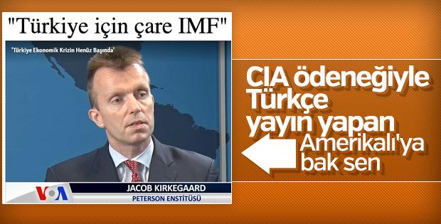 Amerika'nın Sesi'nden IMF çağrısı