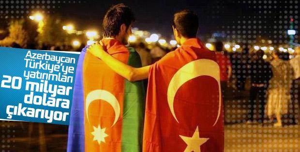 Azerbaycan'ın Türkiye'ye yatırımları 20 milyar dolar olacak