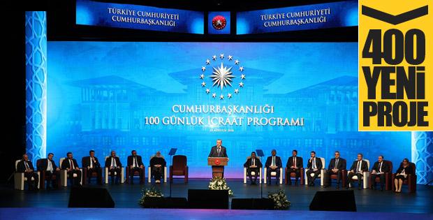 Başkan Erdoğan'ın 100 günlük eylem programı