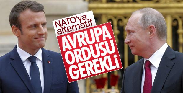 Putin: Avrupa ordusu fikri olumlu bir gelişme