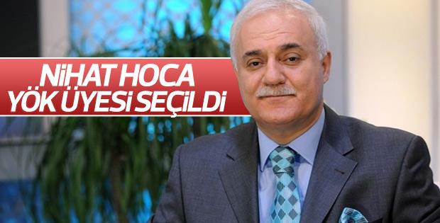 Cumhurbaşkanı Erdoğan Nihat Hoca'yı YÖK'e atadı