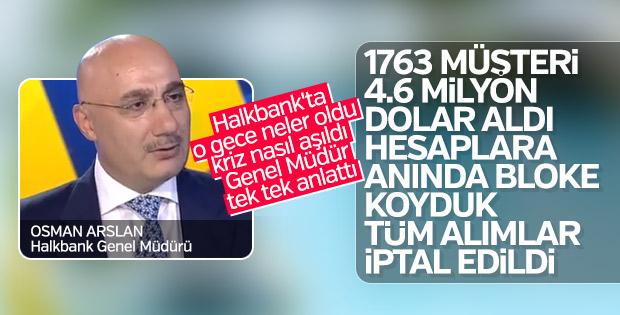 Halkbank: Ucuz döviz alımı işlemi yapanların hesaplarına bloke koyduk