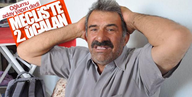 Abdullah Öcalan'ın bir yeğeni daha HDP'den aday oldu