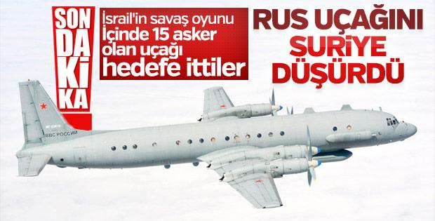 Rusya: Uçağımızı Suriye yanlışlıkla düşürdü