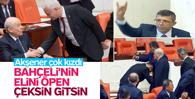 Akşener'den partililere Bahçeli tepkisi