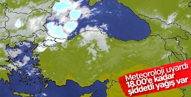 Türkiye geneli 5 günlük hava raporu