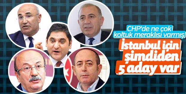 CHP'de İstanbul adaylığı için yarış başladı