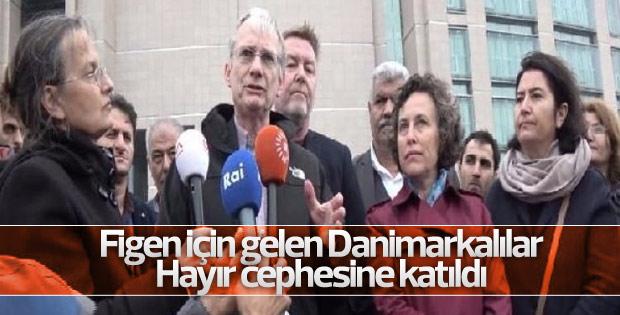 Danimarkalı vekilden Yüksekdağ'a destek
