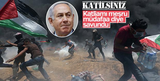 Netanyahu katliamı savundu