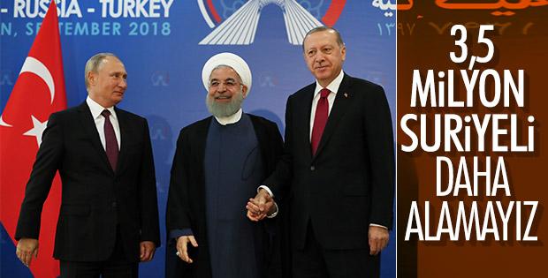 Başkan Erdoğan: İdlib'in kan gölüne dönmesini istemiyoruz