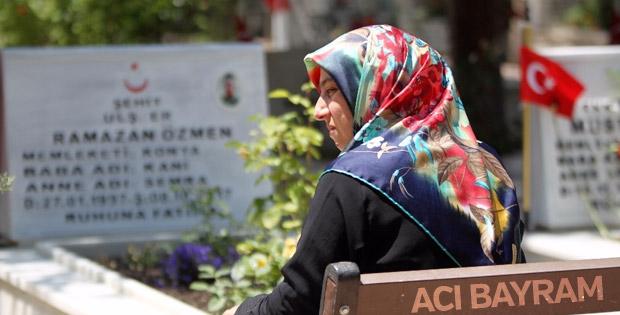 Şehit Ramazan'sız ilk bayram