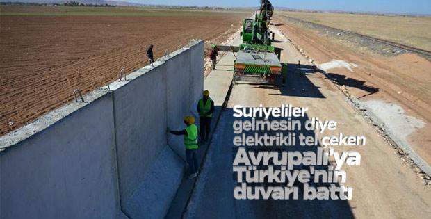 Almanlar Türkiye'nin duvar örmesinden rahatsız