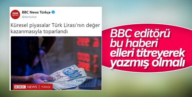 BBC Türkçe: Türk lirası değer kazanıyor