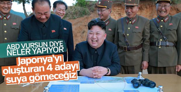 Kuzey Kore'den ABD ve Japonya'ya tehdit