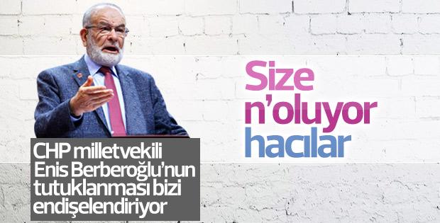 Karamollaoğlu CHP'li vekil için endişeli