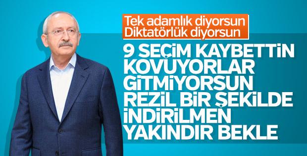 Kılıçdaroğlu koltuğa yapıştı