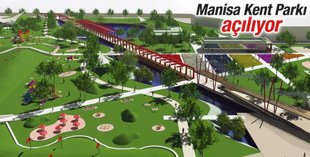 Manisa Kent Parkı açılıyor