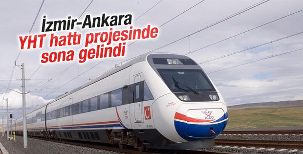 İzmir-Ankara YHT hattı projesinde sona gelindi