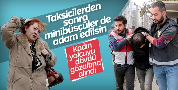 Kadıköy'de yolcusuna saldıran minibüsçü gözaltında