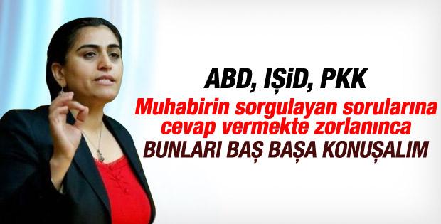 Sebahat Tuncel'den IŞİD'i soran gazeteciye ilginç cevap