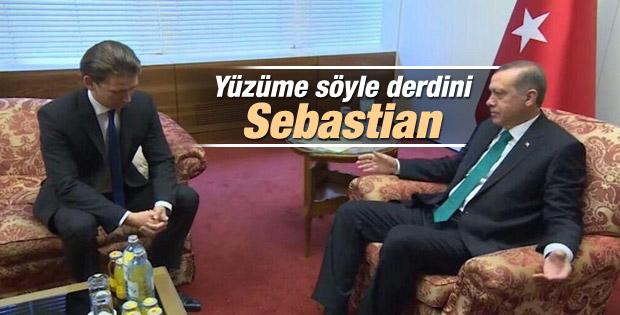 Başbakan Erdoğan Sebastian Kurz'u kabul etti