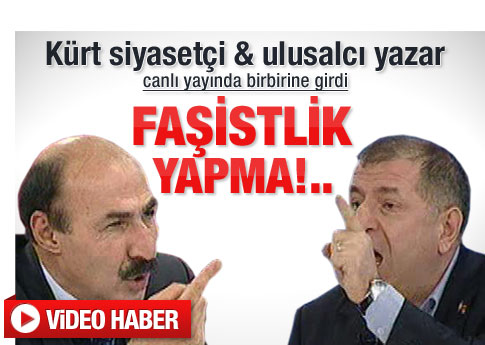 Sebgetullah Seydaoğlu ve Ümit Özdağ'ın faşist kavgası