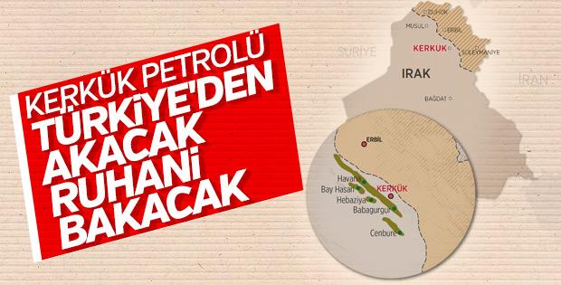Kerkük petrolünde tek seçenek Türkiye