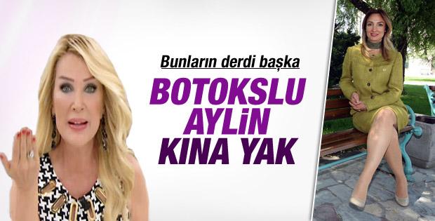 Seda Sayan'dan Aylin Nazlıaka'ya: Kına yak