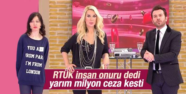Seda Sayan Show TV'yi yaktı