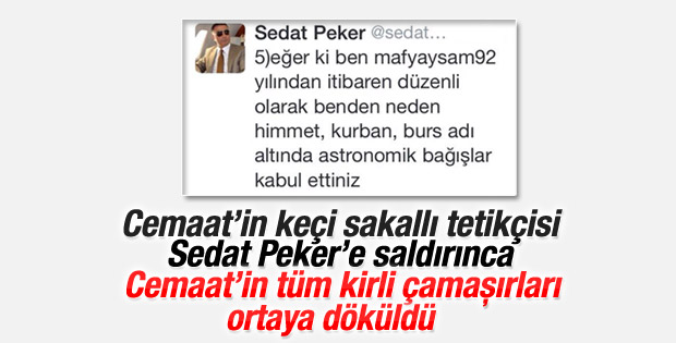 Sedat Peker'den Emre Uslu'ya salvolar