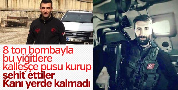 Recep Emre Yılmaz'ı şehit eden teröristler öldürüldü