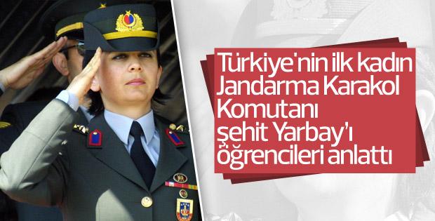 Kadın astsubaylar şehit Songül Yarbay'ı anlattı