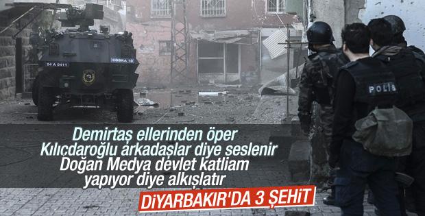 Diyarbakır'da PKK saldırısı: 3 şehit